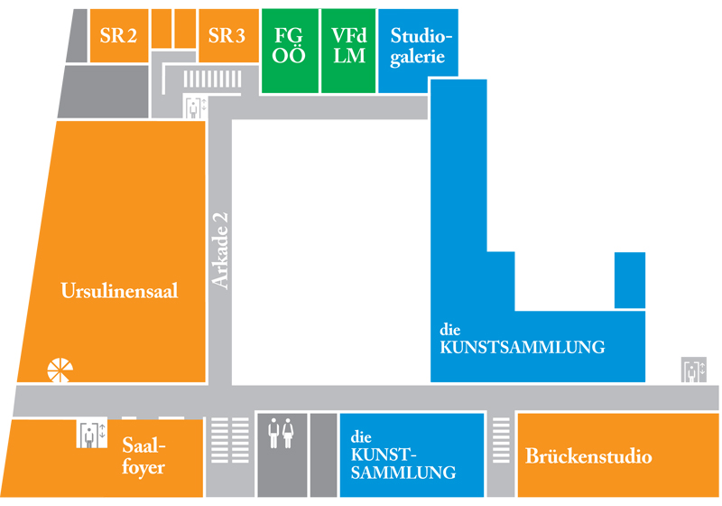 Map Ursulinensaal