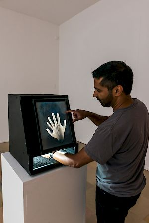 Golan Levin, Kyle McDonald, Chris Sugrue | US, Augmented Hand Series