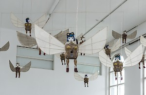 Heri Dono /ID: Flying Angels, 2006